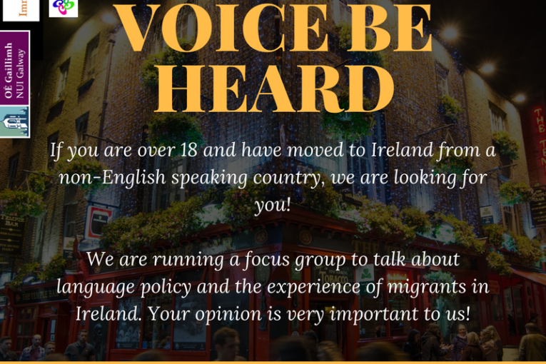 Focus group on language, migration and identity